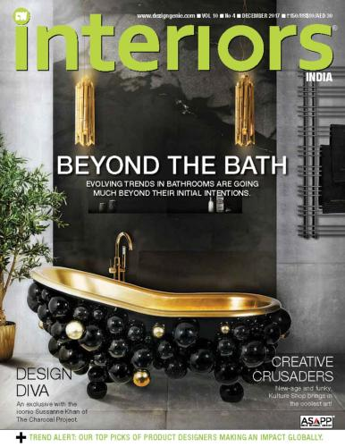 Couverture magazine INTERIORS