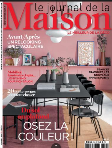 couverture magazine le journal de la maison